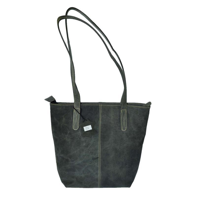 1d88ba38f2781 Luxus Handtasche aus hochwertigen Echt Leder Schwarz Wintage