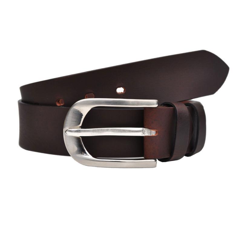 4cm Breit VOLL Leder Guertel Echtleder Real Leather OT40-22669-NK
