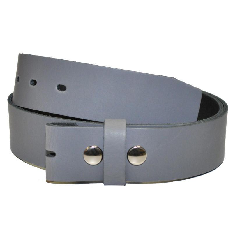 3,5cm Breit Echt Leder Guertel mit 4 Eckiger Schnalle Wählbar aus 11 Längen Schwarz, Weiss, Rot oder Dunkel Braun