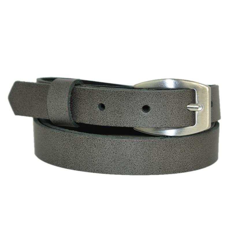 Naturrell Schmal 2cm Breit Echt Leder Guertel mit Farbe Wählbar aus 11 Längen