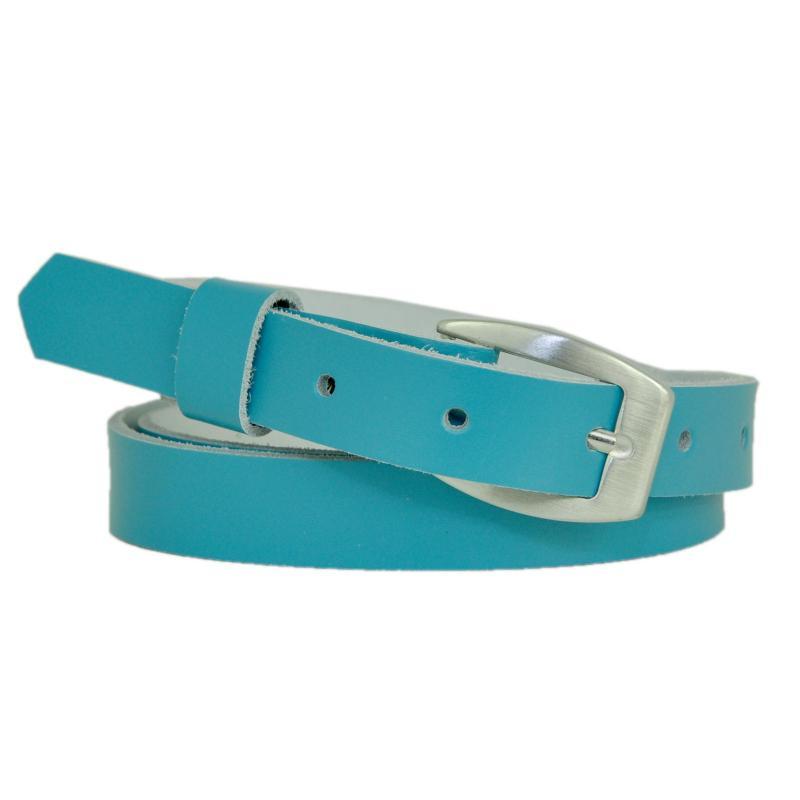 Braun Schmal 2cm Breit Echt Leder Guertel mit Farbe Wählbar aus 11 Längen