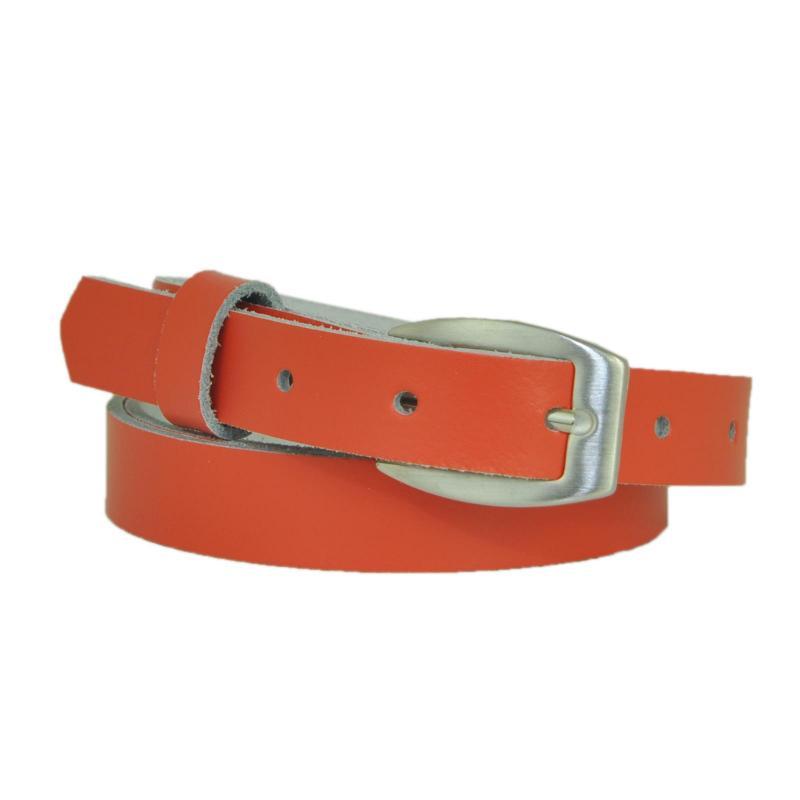 Grau Schmal 2cm Breit Echt Leder Guertel mit Farbe Wählbar aus 11 Längen